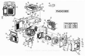 Powermate Formerly Coleman Pm0431800 Parts Diagram For