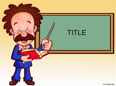 teachers background design  powerpoint  templates