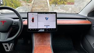 Removing and wrapping the dashboard in the Tesla Model 3 - YouTube
