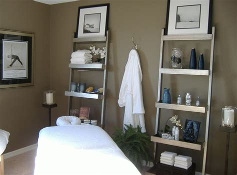 room color and table placement idea acupuncture office