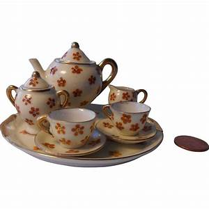 Tiny Tea Set from Occupied Japan : The Hobbit Niche