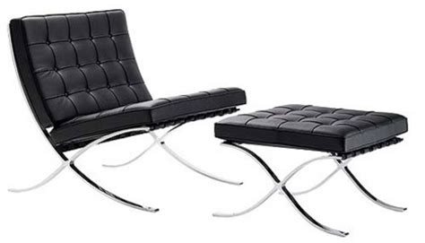 The Barcelona Chair Created By Ludwig
