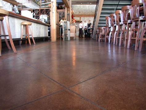 restaurant kitchen flooring options decorative concrete concreteideas 4786
