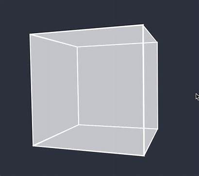 Cube Rotating Mouse Rotate Down End Sudden