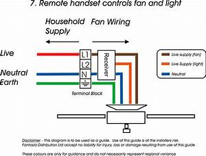 Hampton Bay Switch And Capacitor Wiring Diagram