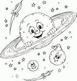Galaxy Coloring Lesson Drawing Easy Printables sketch template