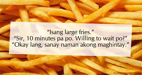 hugot lines  food  easy rock