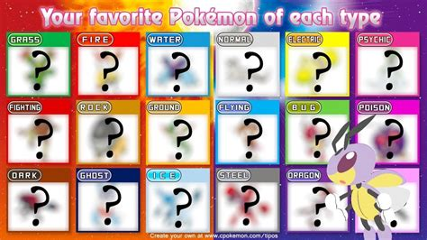 My Favorite Pokemon For Each Type!