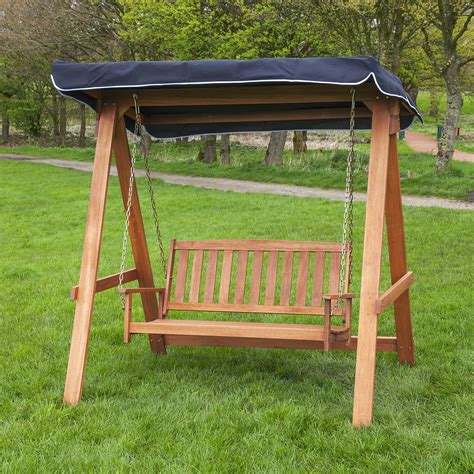 canapé swing wood patio swing with canopy instant knowledge