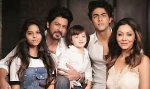 Shahrukh Khan Wife And Kids
