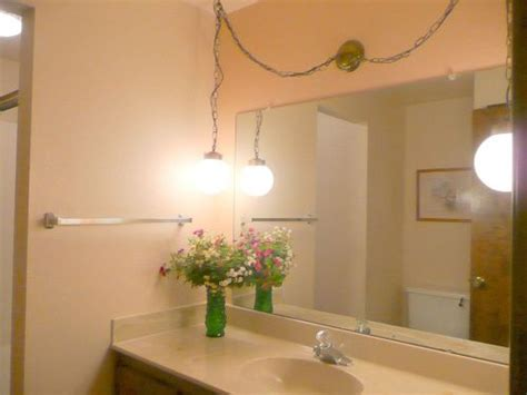 Lights Fixtures For The Bathroom by Light Fixture Upgrade On A Budget Hometalk