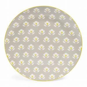 Teller Set Grau : flacher teller wallpaper aus porzellan d 27 cm grau ~ Michelbontemps.com Haus und Dekorationen