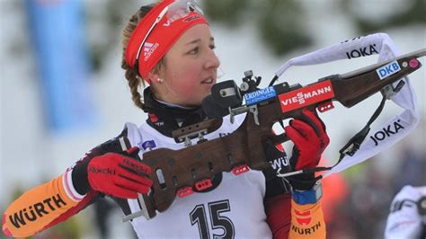 Franziska preuß (ast) media in category franziska preuß. Franziska Preuß bei Biathlon-Weltcup in Oberhof auf Platz Vier