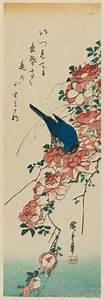 Utagawa Hiroshige: Blue Bird and Roses - Museum of Fine ...