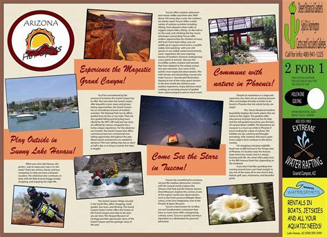 Brochure Templates For School Project by Travel Brochure School Project Cyberuse