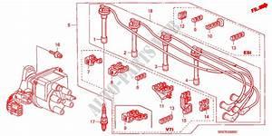High Tension Cord   Spark Plug For Honda Cars Civic Crx Esi