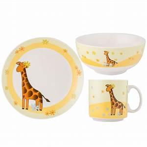 Schüssel Set Porzellan : 3er set kindergeschirr giraffe porzellan geschirr kinder teller sch ssel tasse ebay ~ Eleganceandgraceweddings.com Haus und Dekorationen
