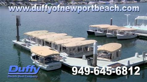 Duffy Electric Boat Rentals Newport Beach by Duffy Electric Boats Of Newport Beach Ca Boat Rentals