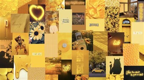 yellow alannahg03 aesthetic desktop wallpaper