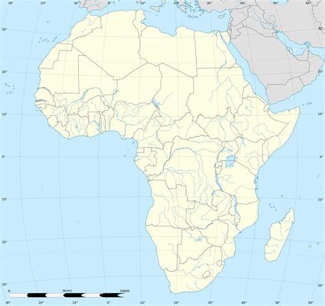 Carte Fleuve De Vierge by Carte De L Afrique Cartes Sur Le Continent Africains