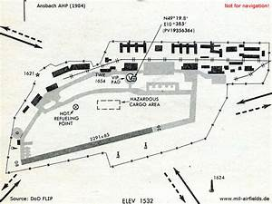 Ansbach Army Airfield    Heliport  Germany
