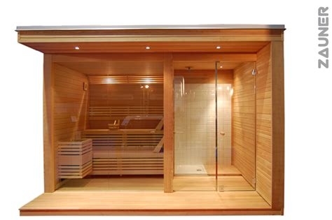 saune da giardino modulo wellness da esterno zauner