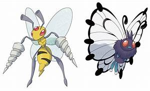MEGA BEEDRILL and MEGA BUTTERFREE by HallowDew on DeviantArt