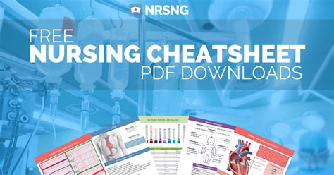 nursing cheat sheet downloads