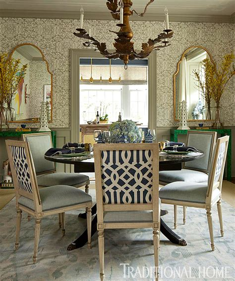 Stylish Dinner Showhouse by Classically Inspired Dinner In Blue And White