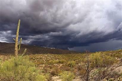Arizona Monsoon Flash Southern Floods Desert Weather