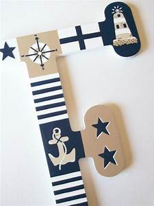 35 best images about boeta se kamer on pinterest baby With nautical wall letters