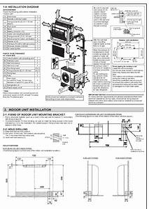Mitsubishi Jg79a145h03 Floor Mounted Air Conditioner