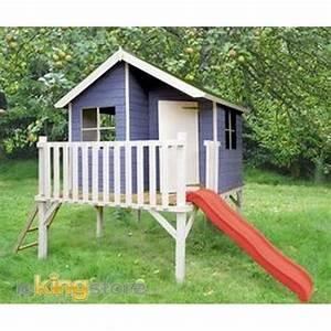 Maison En Bois Enfant : cabane bois enfant les bons plans de micromonde ~ Nature-et-papiers.com Idées de Décoration