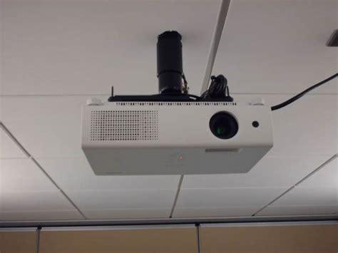 ceiling mounted projectors for conference rooms collage school projector installation service