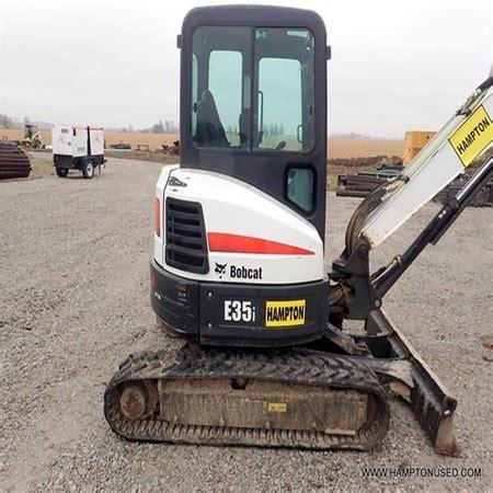 bobcat  mini crawler excavator  salehampton equipment llcfort wayneunited states
