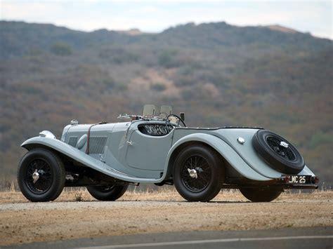 1938 Aston Martin 15-98 Retro H Wallpaper