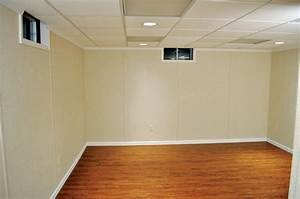 Basement wall finishing system by total basement finishing for Basement wall finishing