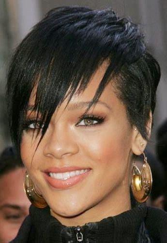 coupe cheveux mi dégradé effilé avec frange coupe de cheveux courts pour femme karta