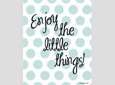 May 2014 Calendar is HereEnjoy the Little Things