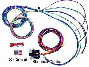 12 Volt 8 Circuit Wiring Harness
