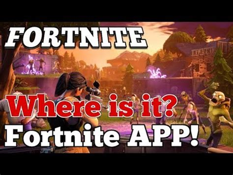 fortnite mobile app   coming youtube
