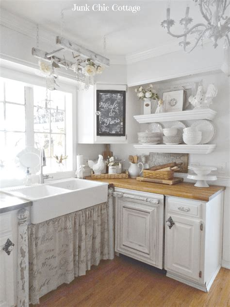 cuisine shabby chic 29 best shabby chic kitchen decor ideas and designs for 2018