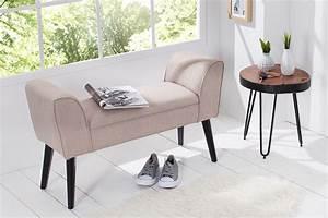 Sitzbank 90 Cm : elegante sitzbank scarlett 90 cm sand beine aus massivholz gepolstert riess ~ Whattoseeinmadrid.com Haus und Dekorationen