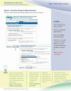 Medicaid Ehr Incentive Program Registration User Guide For