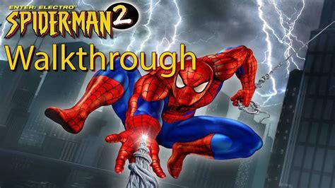 ps spider man  enter electro full walkthrough
