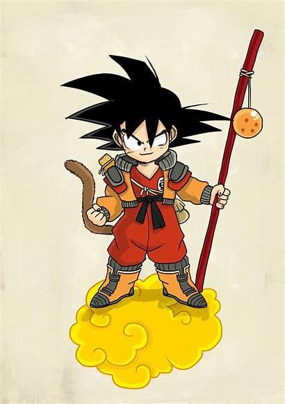 Dragon Ball Character Redesign Behance