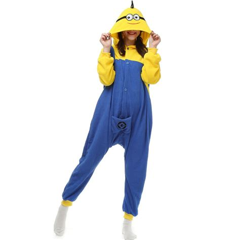 Minions Piyama buy despicable minions pajamas fleece onesie