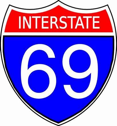 69 35 94 75 Interstate Sign Clip