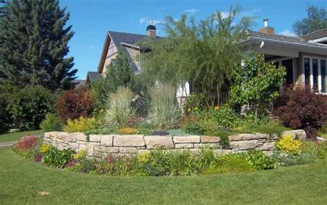 corner lot landscaping ideas landscaping walls picture gallery