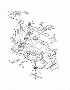 Mower Deck Diagram  U0026 Parts List For Model 917288522
